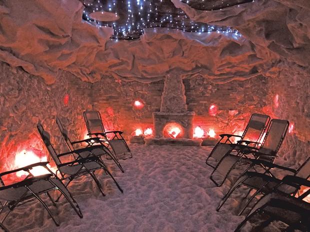 Salt Cave - KRISTEN RAVIN