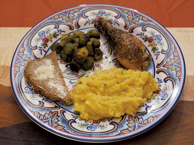 Vegetable mash makes a great side dish - ANDY BRUMBAUGH
