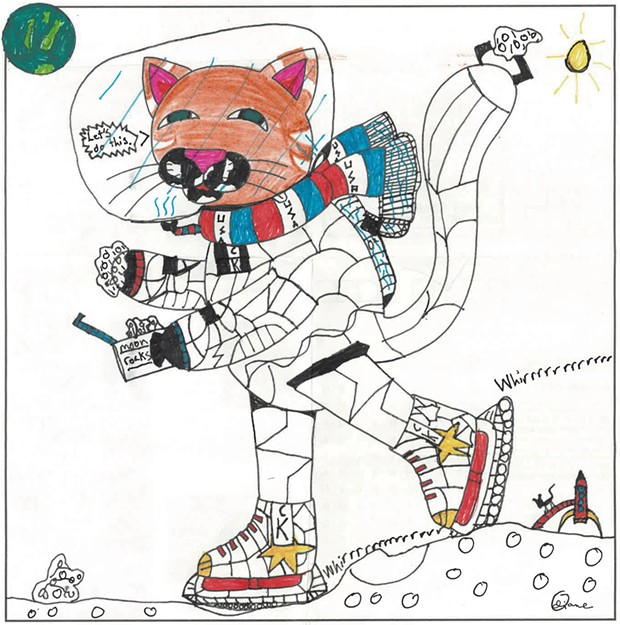 """Catsmonaut Kat: Mission Moon Skate"""