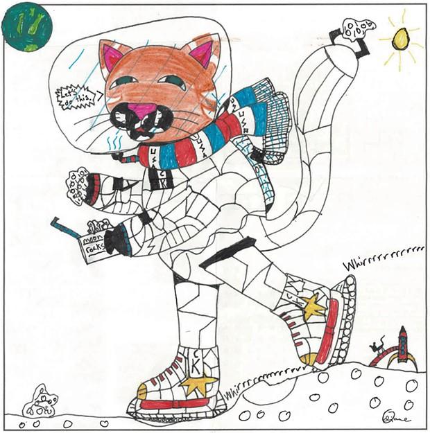 """Catsmonaut Kat: Mission Moon Skate"""
