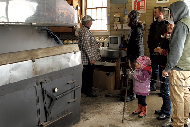 Maple Open House Weekend at Boyden Valley Farm - COURTESY OF CAROL SULLIVAN