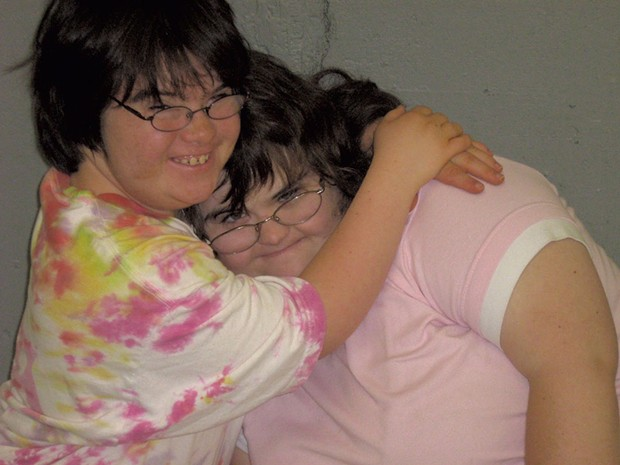 Campers Emily and Faith - COURTESY OF DEBBIE LAMDEN