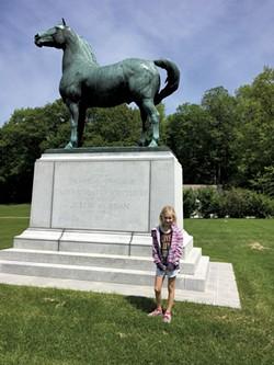 University of Vermont Morgan Horse Farm - COURTESY SARAH TUFF DUNN