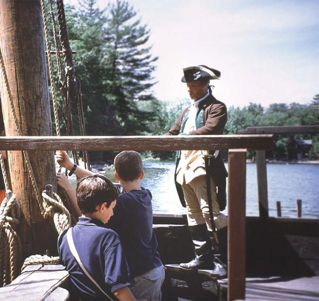 Aboard the Philadelphia II at Lake Champlain Maritime Museum - COURTESY OF LAKE CHAMPLAIN MARITIME MUSEUM
