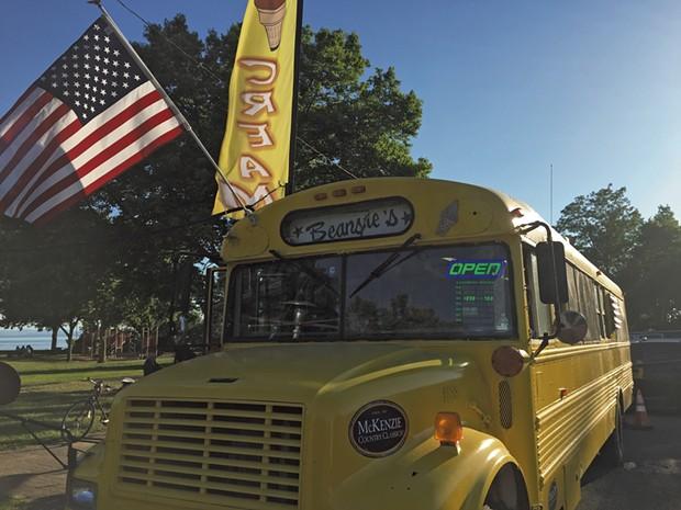 Beansie's Bus - COURTESY DON EGGERT