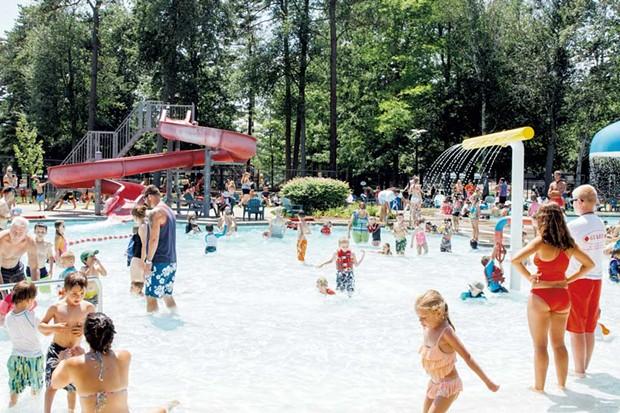 Maple Street Park & Pool - COURTESY