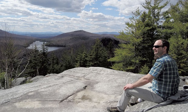 The top of Owls Head at Groton State Forest - COURTESY LAURA SORKIN