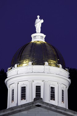 Vermont Statehouse - FILE: JEB WALLACE BRODEUR