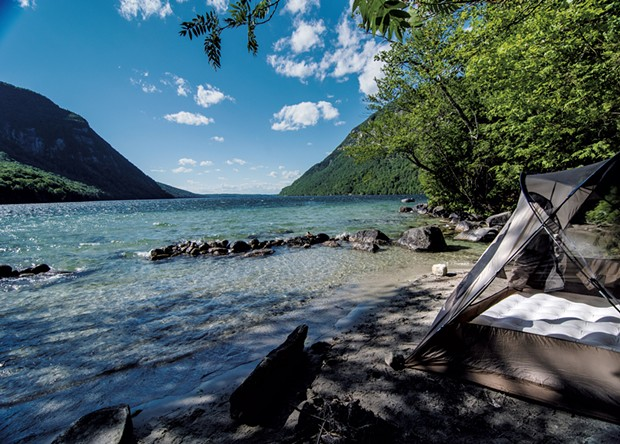 Willoughby Lake Beach - FILE: ROBIN KATRICK PHOTOGRAPHY