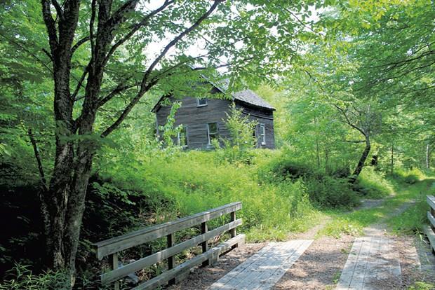 The Almeron Goodell farmhouse - JOANNE PEREIRA