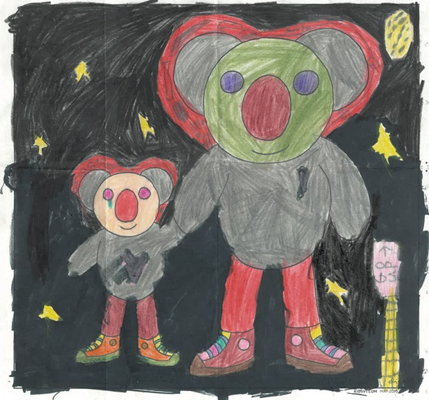 """""""Space Koala"""" - """"T"""