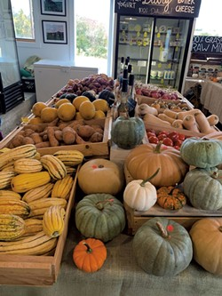 Autumn's bounty at Family Cow Farmstand in Hinesburg