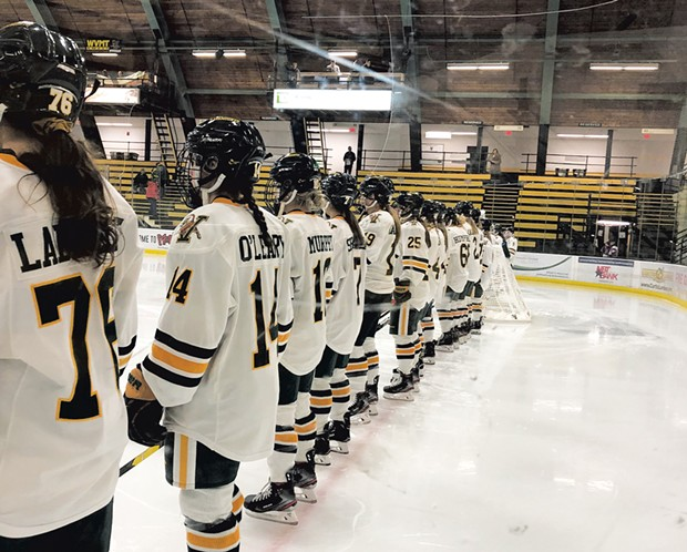 UVM women's hockey team - HEATHER POLIFKA-RIVAS
