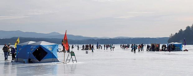 Ice Fishing Day