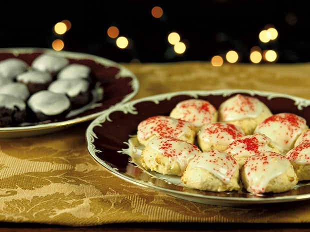 Italian Holiday Cookies - ANDY BRUMBAUGH