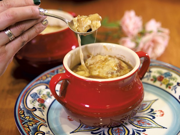 French onion soup - ANDY BRUMBAUGH