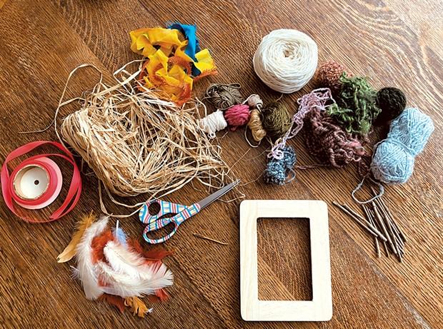 Weaving materials - BRADIE HANSEN
