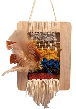Step 12: Secure and display weaving - BRADIE HANSEN