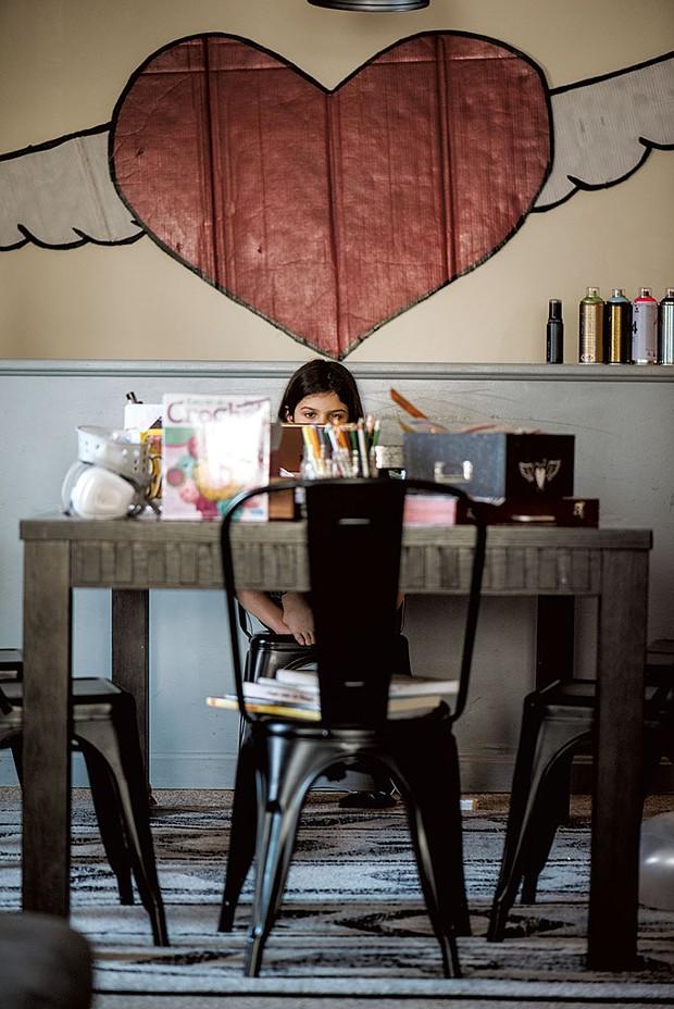 Keeping busy at home - SAM SIMON