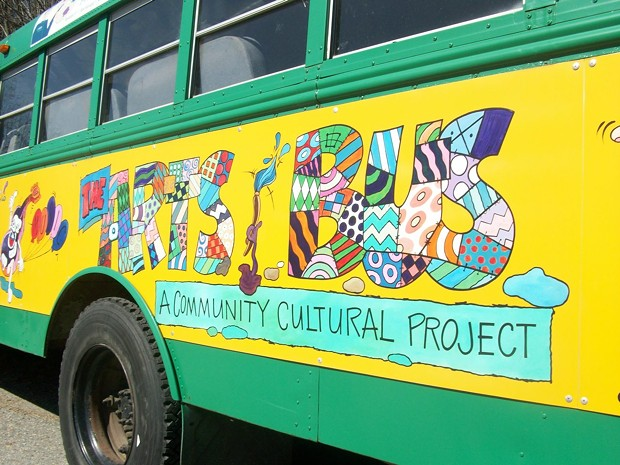 The Arts Bus - COURTESY OF GENNY ALBERT