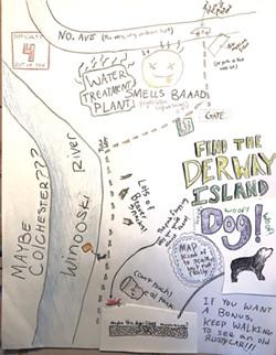 Jillian's Derway Island map - COURTESY OF DOV STUCKER