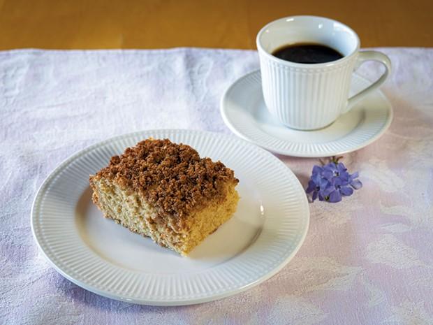 Mom's coffee cake - ANDY BRUMBAUGH