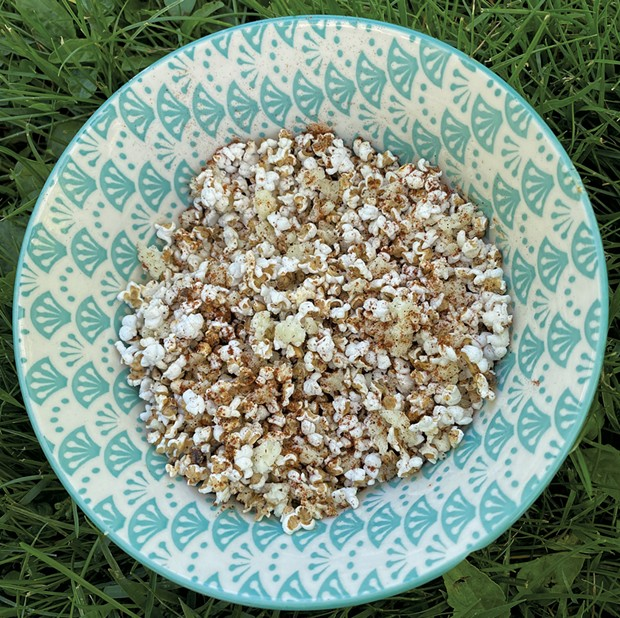 Popped whole grains - TRISH VAN VLIET