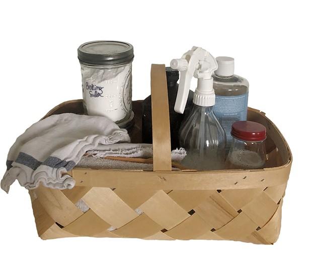 DIY cleaning supplies - MEREDITH BAY-TYACK