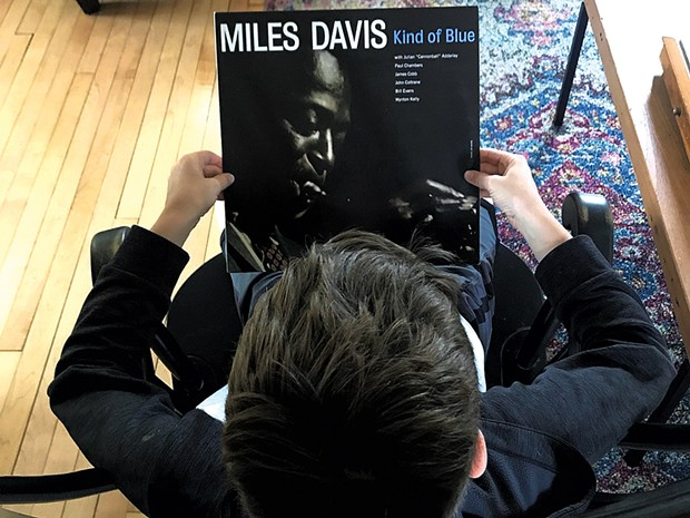 Leo learns about the music of Miles Davis - BENJAMIN ROESCH