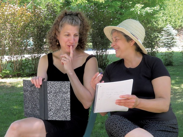Gail Marlene Schwartz (left) and Lucie Gagnon - COURTESY OF GAIL MARLENE SCHWARTZ