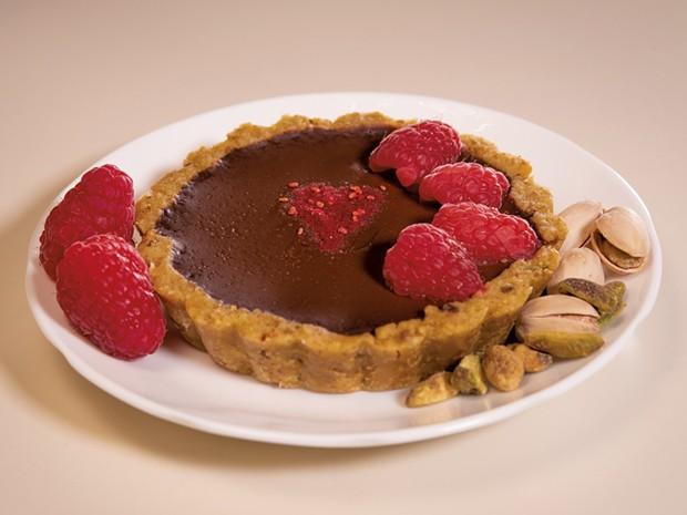 Chocolate Tartlets - ANDY BRUMBAUGH