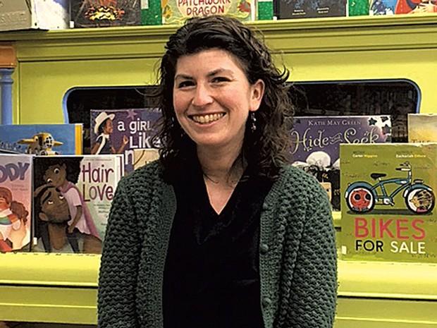 Librarian Abby Johnson - COURTESY