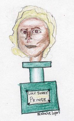 Natalie Lyon of South Burlington's portrait of Lucy Terry Prince