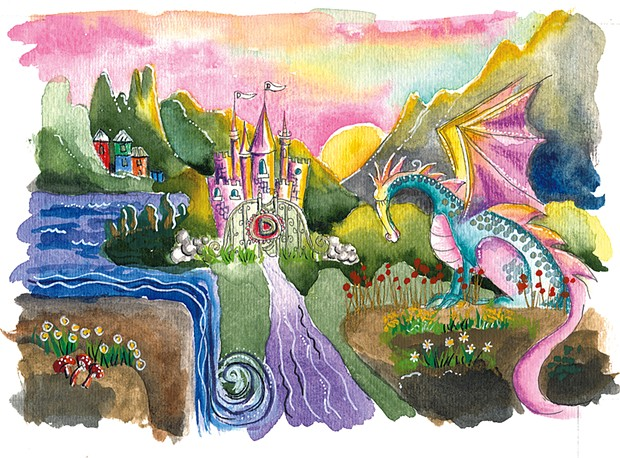 Artwork by Cathy Stevens Pratt - COURTESY OF DOMINIC SPILLANE