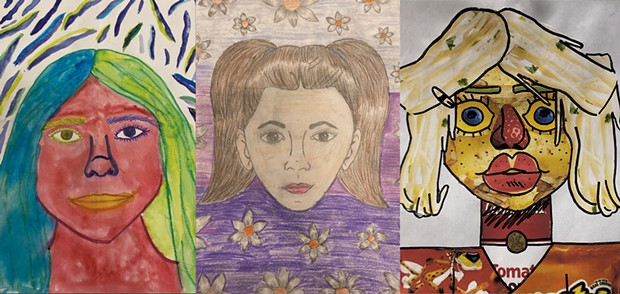 Portraits by Lila Hamme, Naba'a Hussein and Phoebe Fogarty