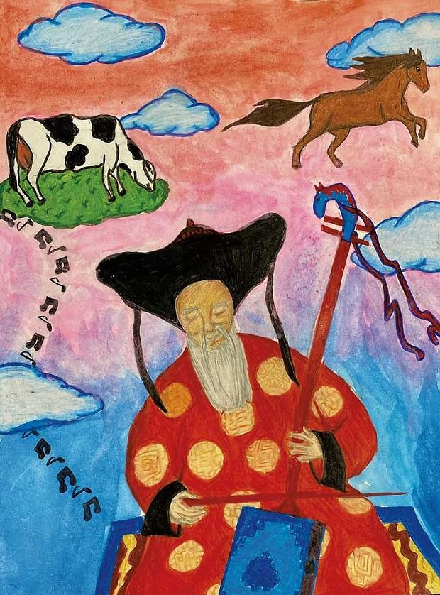 """""""Mongolian Dreams"""" by Winner M., age 14"""