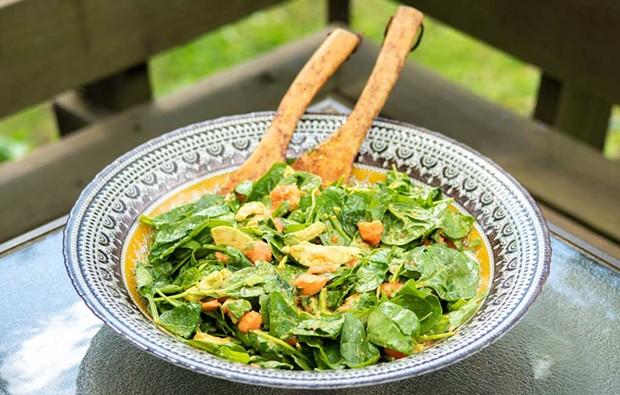 Papaya-Avocado Salad - ANDY BRUMBAUGH