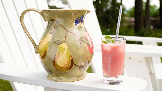 Watermelon-Coconut Refresher - ANDY BRUMBAUGH