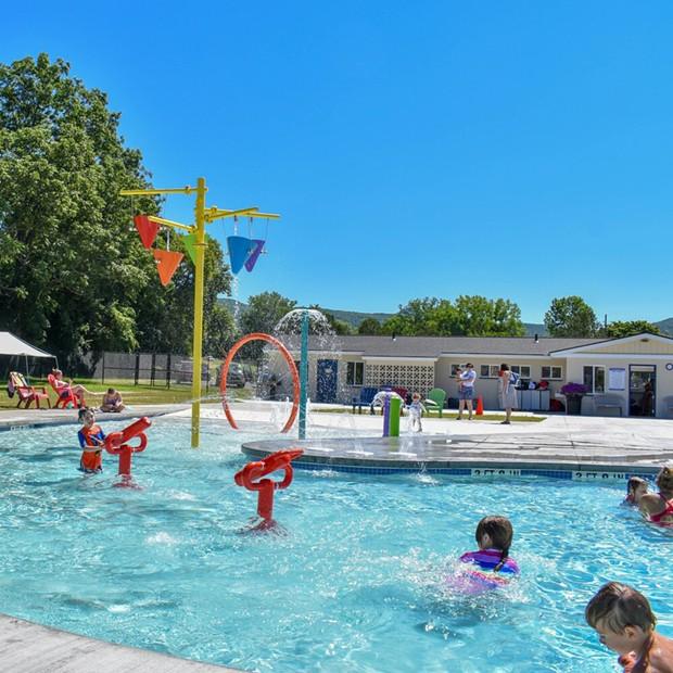 White Memorial Park Pool - COURTESY