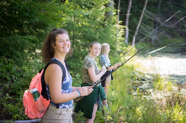Teen Conservation Weekend - COURTESY OF VERMONT FISH & WILDLIFE DEPARTMENT