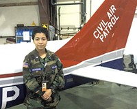 A Motivated Young Cadet Takes to the Sky