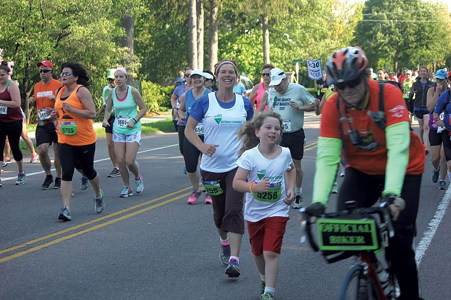 Rachel and Ira Siegel running to raise money for Outright Vermont