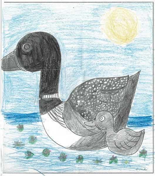 """""""Mother Loon"""""""