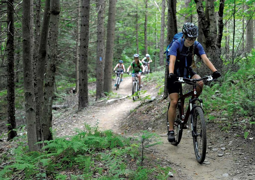 Mountain Biking at Blueberry Lake - JEB WALLACE-BRODEUR
