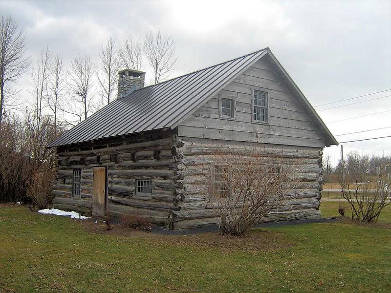 Hyde Log Cabin - COURTESY IMAGE