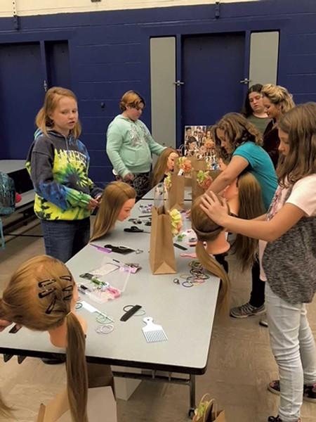 Hairstyling in Irasburg - COURTESY OF MOLLY VEYSEY