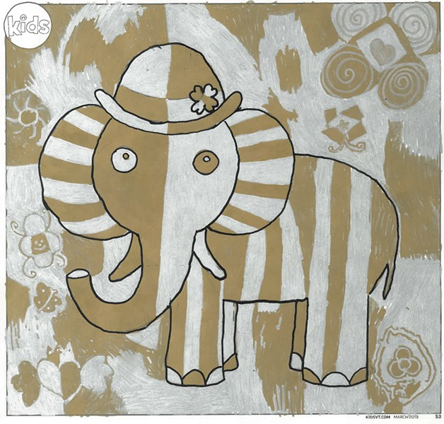 """""""The Fancy Elephant"""""""