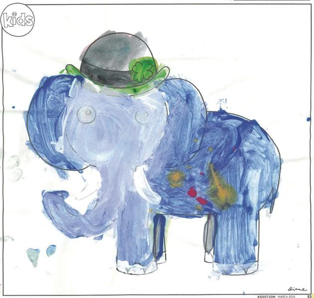 """Blue Elephant"""