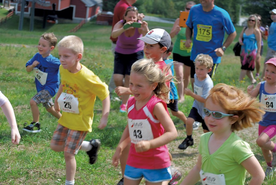 Catamount Outdoor Family Center Tuesday night trail-running series - COURTESY CATAMOUNT TRAIL ASSOCIATION
