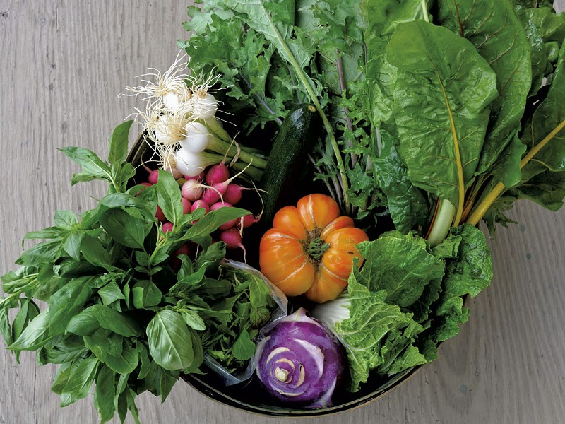 Garden's bounty - COURTESY OF PETE'S GREENS